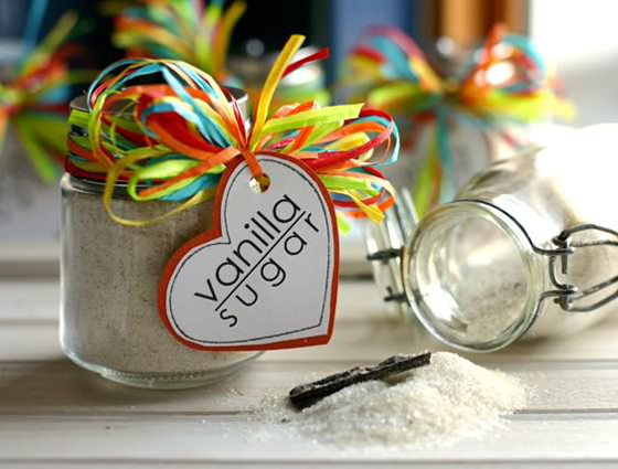 how to make vanilla sugar from cheeky kitchen