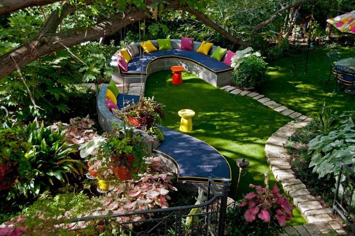 Farebná záhrada