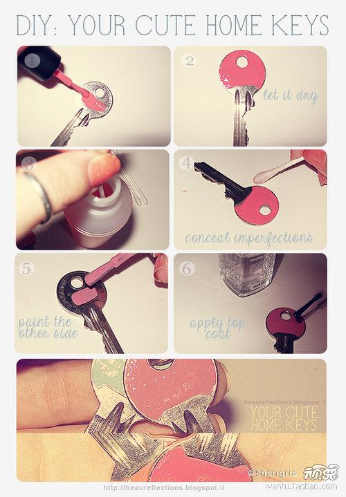 DIY-Cute-Home-Keys