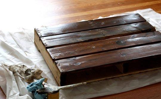 Konferenčný stolík z paliet