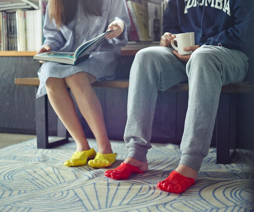 fondue papuče