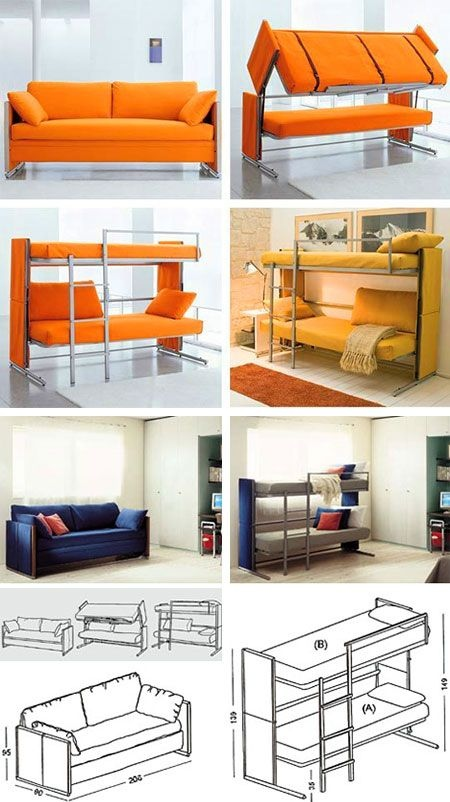 Sofa-bunk-beds