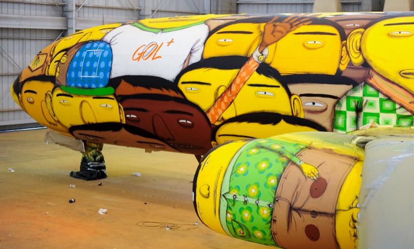 Lietadlo, ktoré bude prevážať brazílskych futbalistov